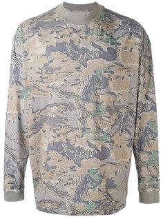 свитер с растительным принтом Yeezy