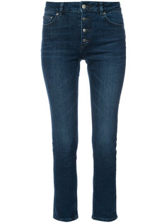 джинсы скинни с завышенной талией  Anine Bing