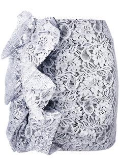 кружевная мини юбка MSGM