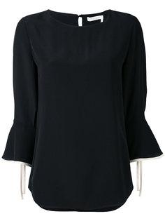 блузка с расклешенными рукавами Chloé
