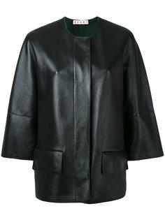 байкерская куртка  Marni