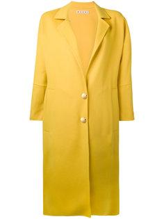 пальто под пояс в форме кокона Marni