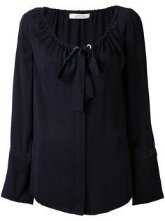 блузка с горловиной на ленточной завязке Dorothee Schumacher