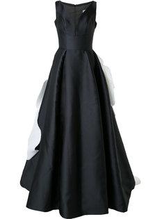 вечернее платье с объемным декором Isabel Sanchis