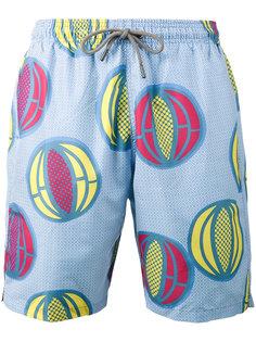шорты для плавания с принтом дыни Okun