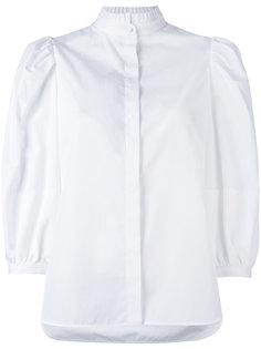 рубашка с пышными рукавами Alexander McQueen