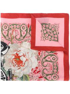 платок с цветочным принтом Mr & Mrs Italy