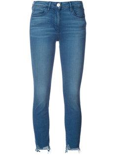 узкие укороченные джинсы 3X1