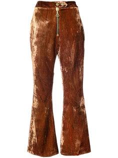 укороченные брюки клеш Ellery