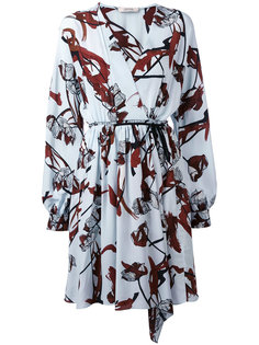 платье с запахом и принтом Dorothee Schumacher