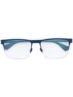 очки в оправе прямоугольной формы Mykita