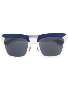 солнцезащитные очки в контрастной оправе Mykita