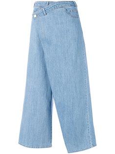 укороченные джинсовые брюки  Christian Wijnants