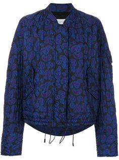 стеганая куртка с принтом пейсли  Christian Wijnants