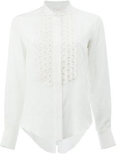 блузка с воротником мандарин Chloé