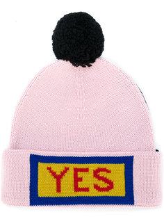 шапка с помпоном Fendi