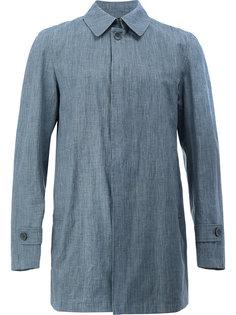 классическое пальто рубашечного кроя Herno