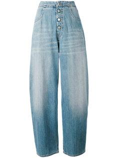 широкие джинсы Mm6 Maison Margiela