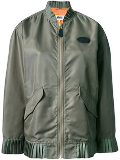 куртка-бомбер Frill Mm6 Maison Margiela