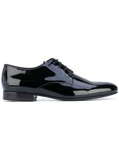 туфли на шнуровке Valentino