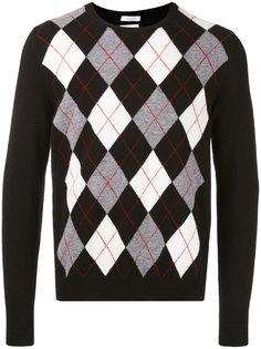 свитер с геометрическим принтом Valentino