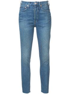 джинсы скинни с потертостями Re/Done