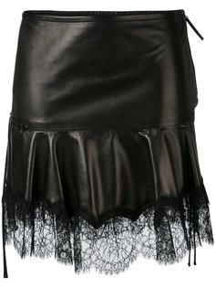 юбка с бахромой Roberto Cavalli