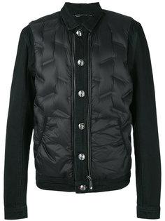 пуховая куртка-бомбер Philipp Plein