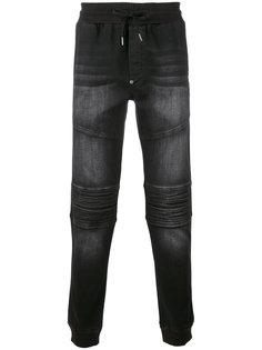байкерские джинсы Philipp Plein