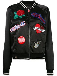 куртка-бомбер с вышивкой Philipp Plein