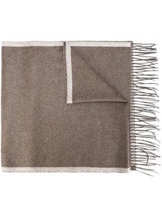 шарф с бахромой Salvatore Ferragamo