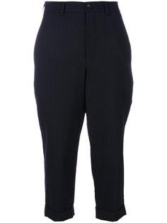 брюки три-четверти в полоску  Comme Des Garçons Comme Des Garçons