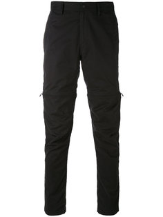 брюки с молниями Maharishi