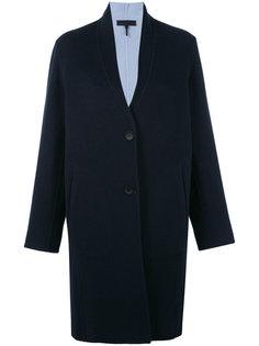 однобортное пальто Rag & Bone