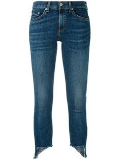 джинсы с неровным низом Rag & Bone