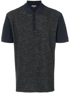 футболка-поло с панельным дизайном Lanvin