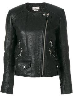 фактурная байкерская куртка Kankara Isabel Marant Étoile