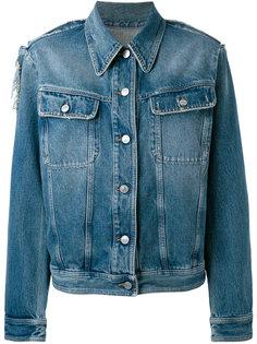 классическая джинсовая куртка Mm6 Maison Margiela