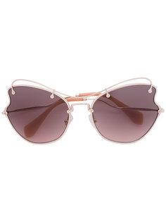 солнцезащитные очки Smu Miu Miu Eyewear