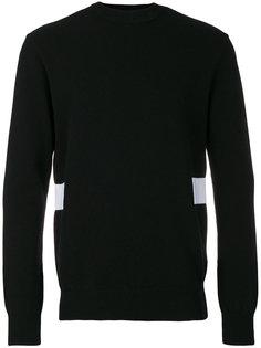 свитер с завязками на спине Givenchy