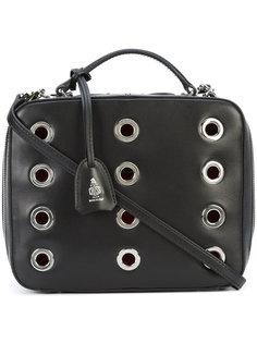 сумка через плечо с люверсами Mark Cross
