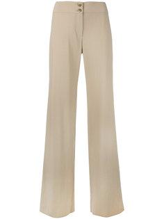 брюки с завышенной талией Armani Collezioni