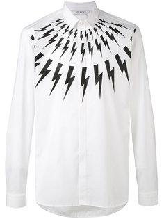 рубашка с принтом молний Neil Barrett