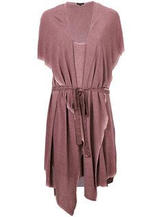 платье с капюшоном и жилеткой Unconditional