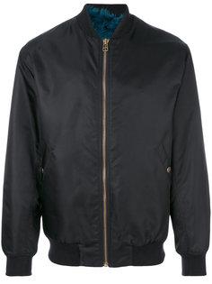 атласная куртка-бомбер  Mr & Mrs Italy