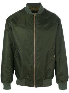 куртка-бомбер с отливом Mr & Mrs Italy