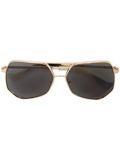 солнцезащитные очки в восьмиугольной оправе Grey Ant