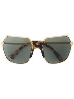 солнцезащитные очки-авиаторы Grey Ant