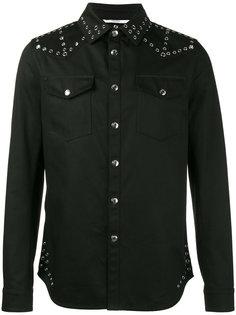 джинсовая куртка с люверсами Valentino