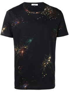 футболка с принтом фейерверков Valentino